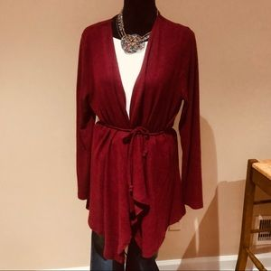 NWT Belted Cardigan
